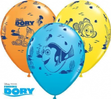 Finding Dory Balloons - 11 Inch Balloons (25pcs)